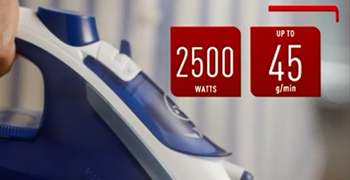 Tefal steam iron for a smooth experience